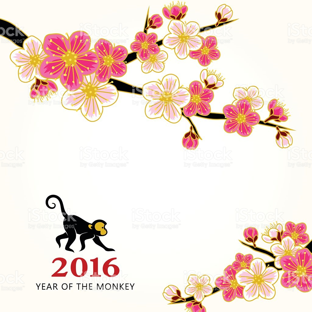 1024x1024 chinese new year flowers clipart