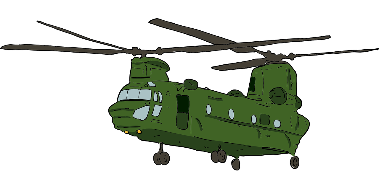 1280x640 Boeing Ch 47 Chinook Helicopter Ch 47j Boeing Chinook Clip Art