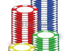 220x165 Poker Chips Clipart Casino Poker Chips Illustration Design
