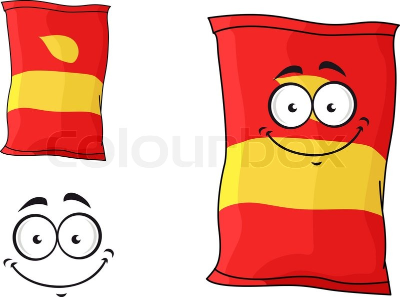 800x593 Potato Chips Clipart