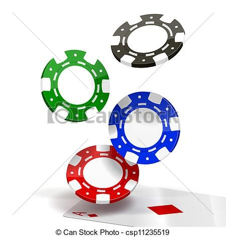 450x470 Amazing Poker Chip Clip Art
