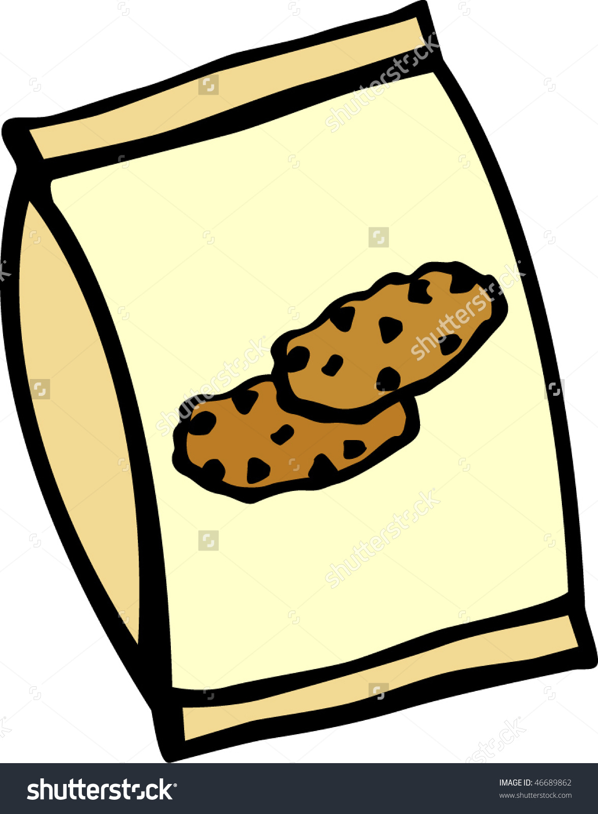 1176x1600 Bag Of Chocolate Chips Clipart