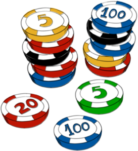 273x298 Casino Chips Clip Art