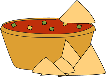 350x257 Chips And Salsa Clip Art