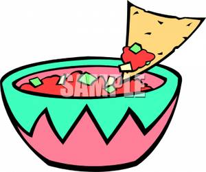 300x250 Chips And Dip Clip Art Clipart
