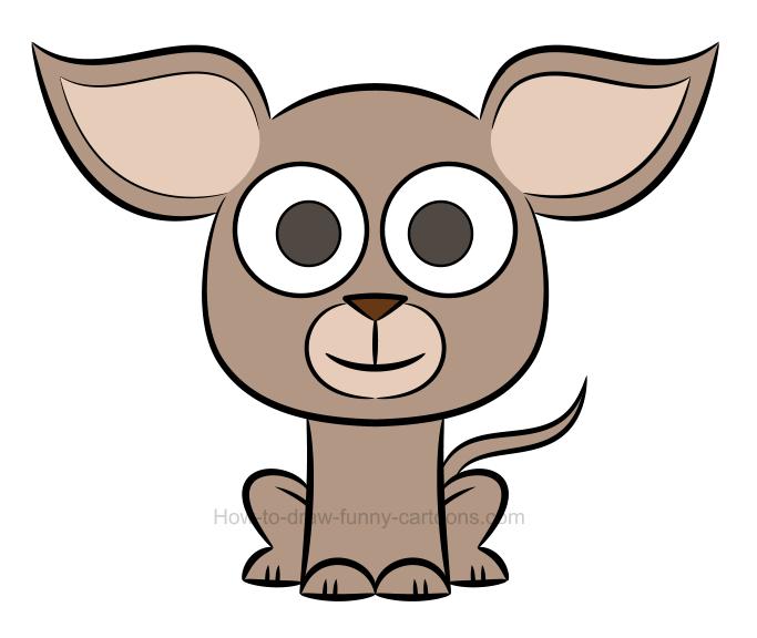 683x576 Cute Chihuahua Cartoon Clip Art. Interesting Cute Chihuahua Chi
