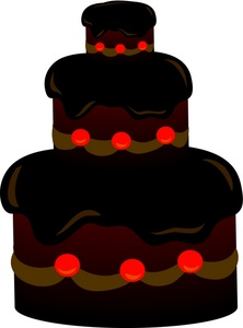 222x300 Free Cake Clipart Image 0071 0801 3019 2623 Food Clipart