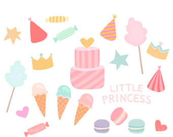 340x270 Hand Painted Cakes Clip Art Watercolor Cakes Birthday Cake