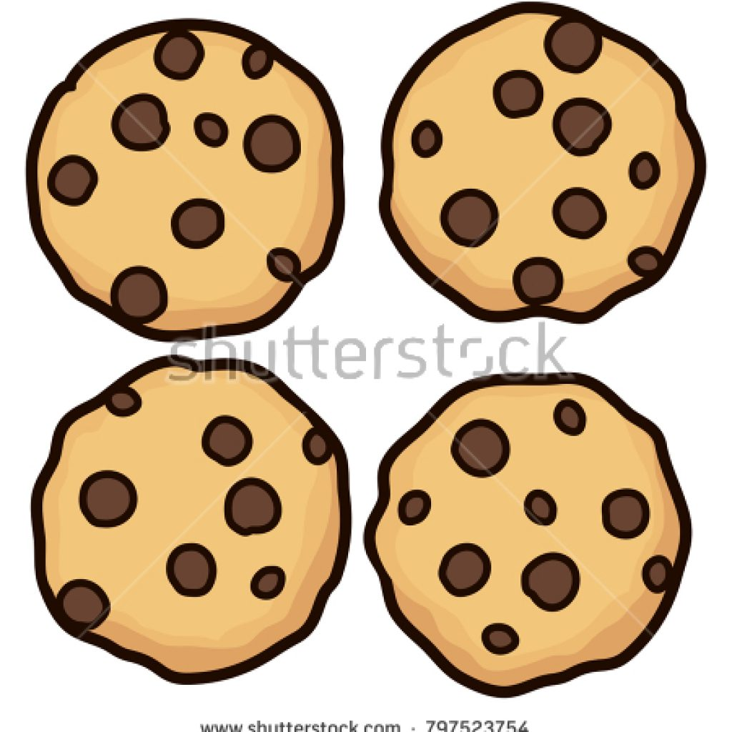 1024x1024 Chocolate Chip Cookie Clipart Thanksgiving Clipart
