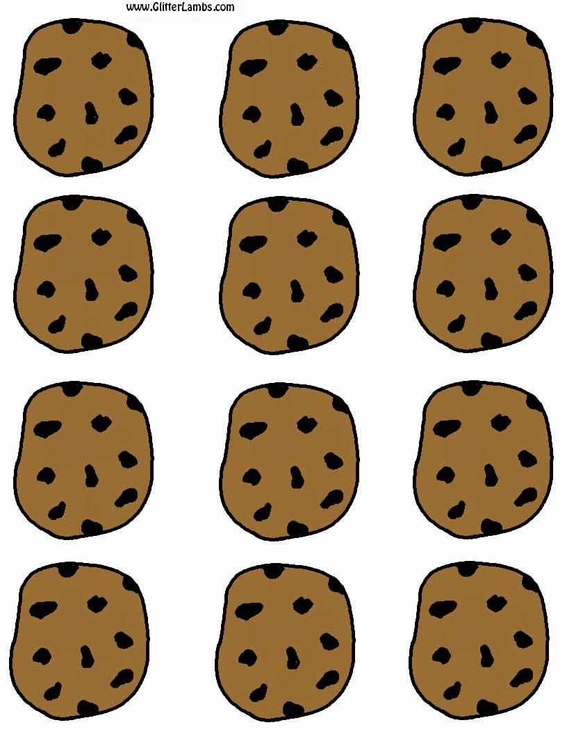 816x1056 Cookie Clip Art