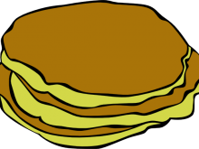 220x165 Pancakes Clip Art Chocolate Chip Pancakes Illustration Of A Stack