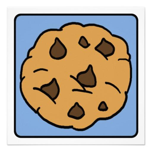 512x512 Chocolate Chip Cookie Clip Art