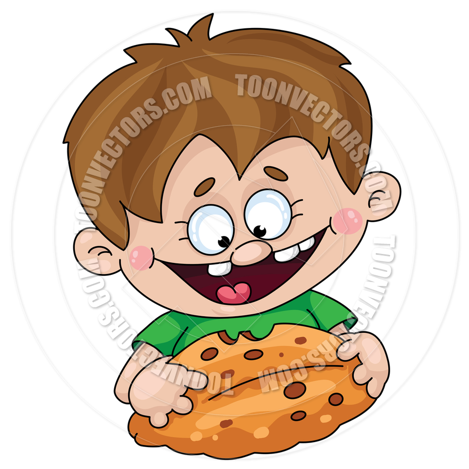 940x940 Girl Eating Cookie Clipart