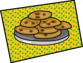 164x124 New Chocolate Chip Cookie Clip Art Best Valentine S Day Recipes