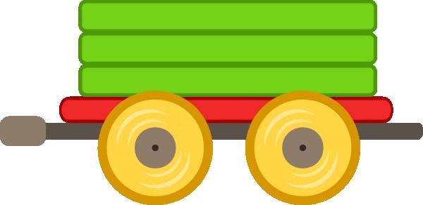 600x292 Engine Clipart Green Train