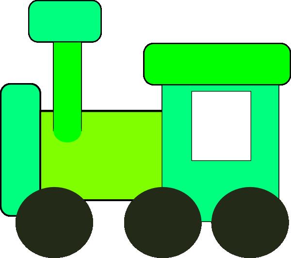 600x531 Green Train Clip Art