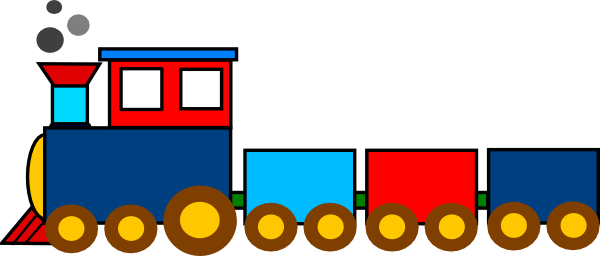 600x256 Choo Choo Train Party Clip Art Images Free, Clip