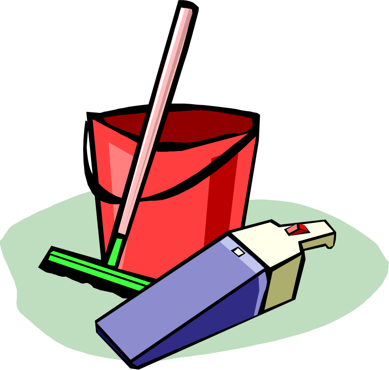 795x757 Chore Clipart Clipart Cleaning Tools Plant Clipart