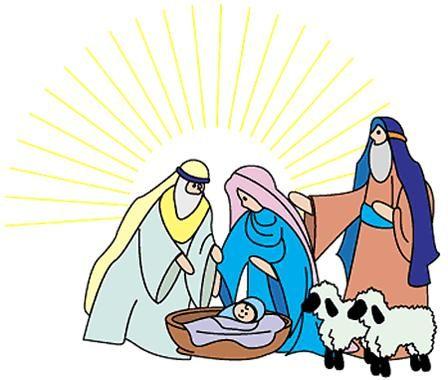 Christian Christmas Clipart