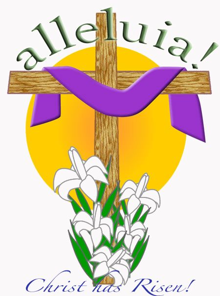 450x604 Shining Happy Easter Christian Clipart Religious Clip Art Pictures