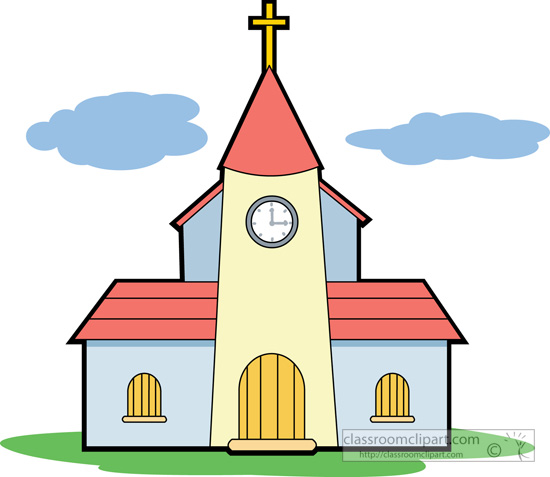 550x477 Animated Church Clip Art Christian Church Clipart