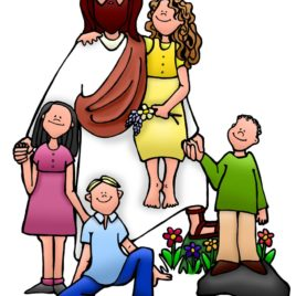 268x268 Christian Kids Clip Art Clipart Panda Free Clipart Images