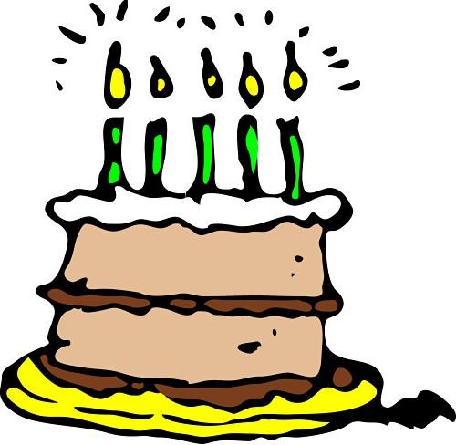 500x488 Birthday Cake Clip Art Happy Birthday Cake Clipart