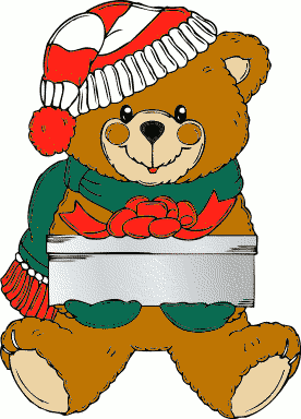 276x384 Free Christmas Animal Clipart