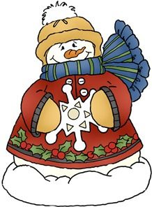 218x296 Christmas Animal Clipart Free Free Christmas Clip Art Snowman