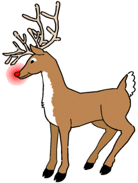 278x368 Free Christmas Clip Art Reindeer Free Christmas Animal Clipart