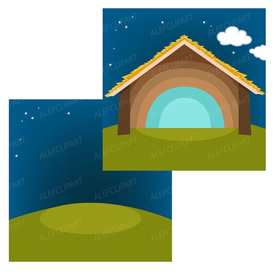 570x557 Nativity Clipart Comes With Christmas Scene Clipart, Nativity