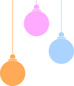 258x299 Christmas Baubles Clipart Png Collection