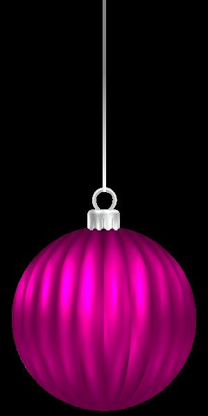 300x600 Pink Christmas Ball Ornament Png Clip Art Image Christmas