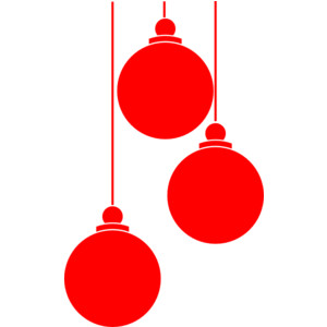 Christmas Ball Ornaments Clipart At Getdrawings Com Free For Rh Black