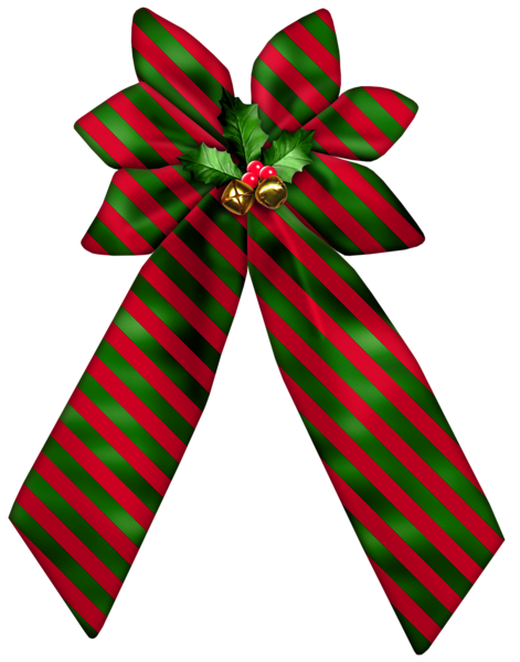 471x600 Christmas Striped Bow Png Clipart Navidad