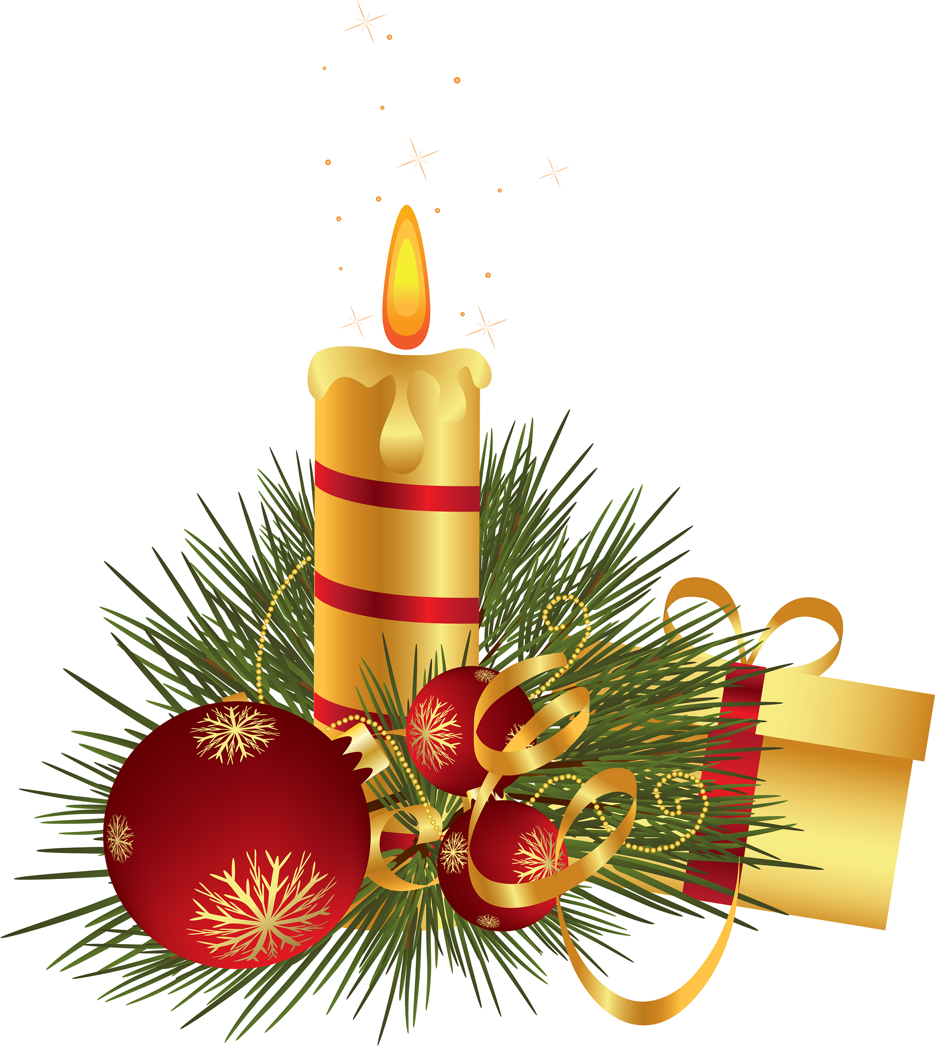 1836x2053 Christmas Candle Centerpiece Clip Art Large Clip Art Holiday