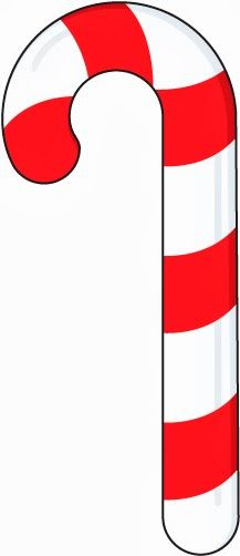 Christmas Candy Cane Clipart