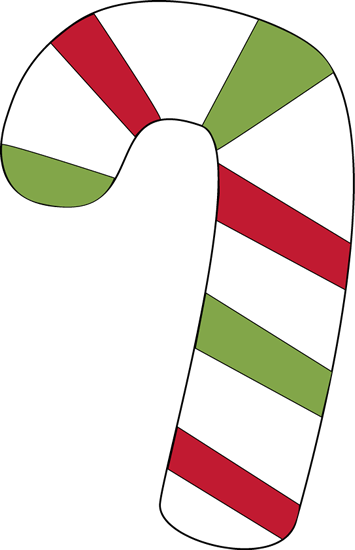 355x550 Red And Green Candy Cane Clip Art