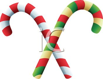 350x269 Royalty Free Clipart Image Christmas Candy Canes