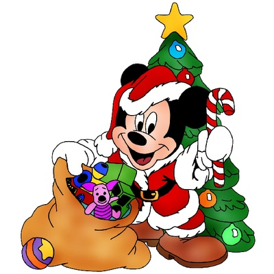 400x400 Christmas Cartoon Characters Clipart