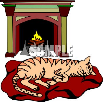350x347 Fireplace Clipart Nativity