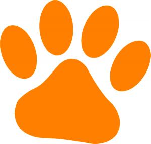300x286 Cat Paw Clipart Orange Cat Paw Clip Art