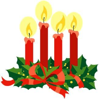325x325 Free Clipart Advent Candle