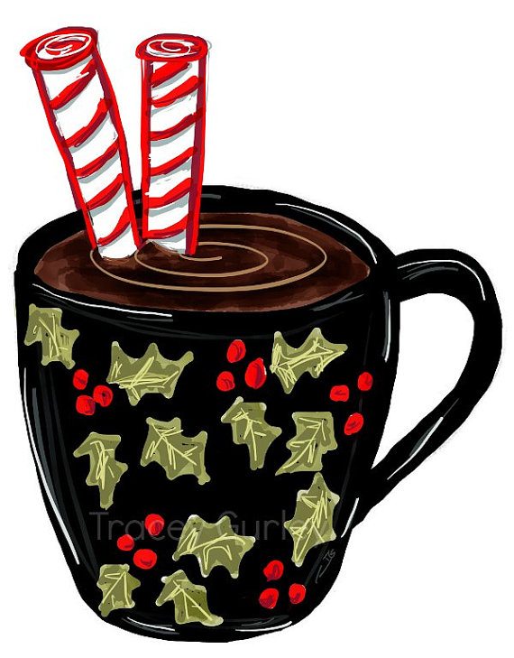 570x729 Hot Chocolate Clipart Hot Chocolate Mug Christmas Crafts