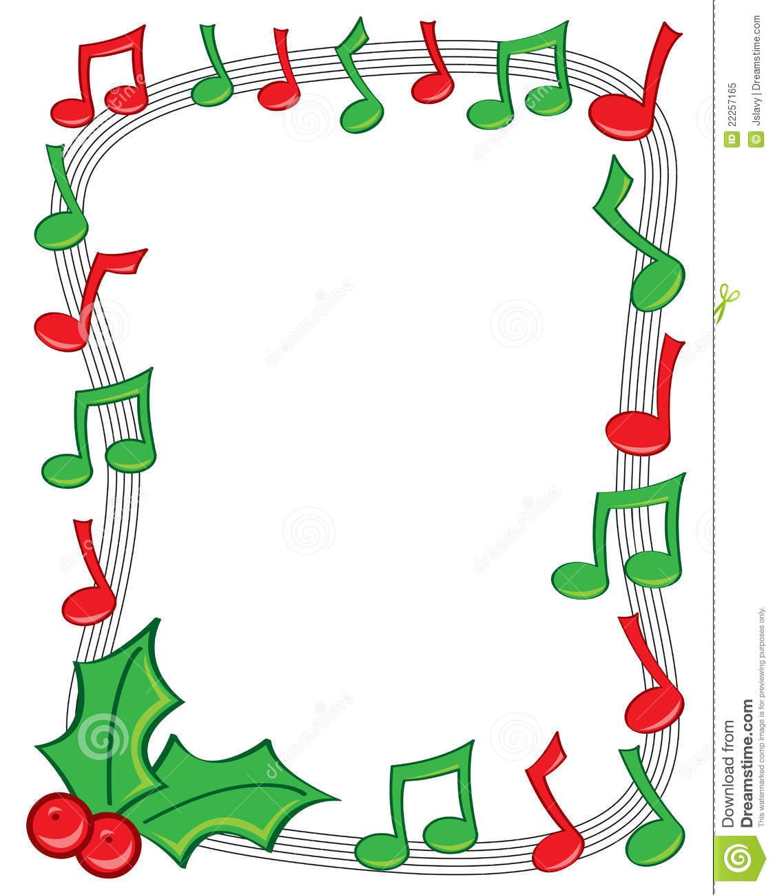 1125x1300 Christmas Music Notes Border Clip Art Clipart Panda