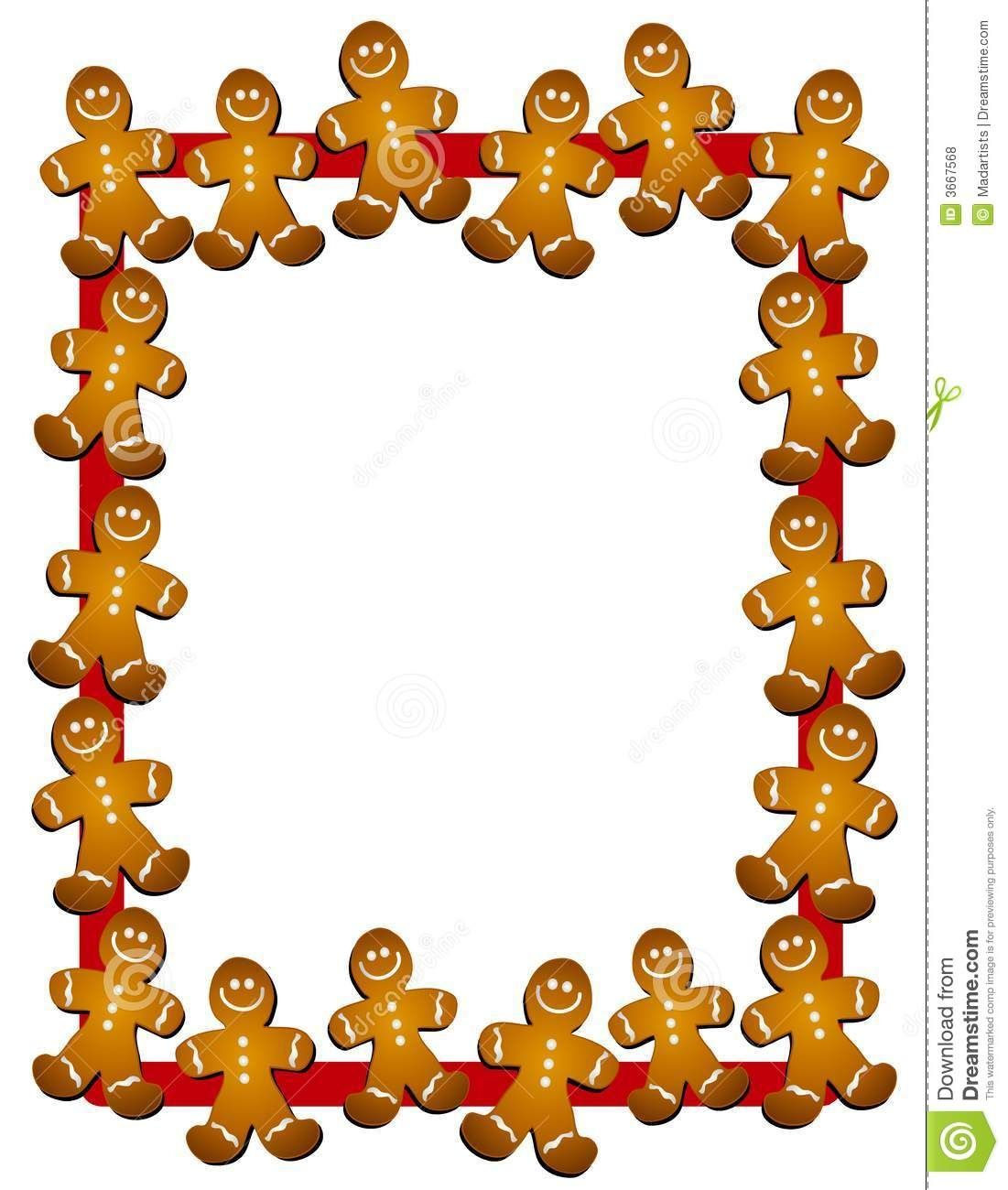 1101x1300 Gingerbread Christmas Clipart