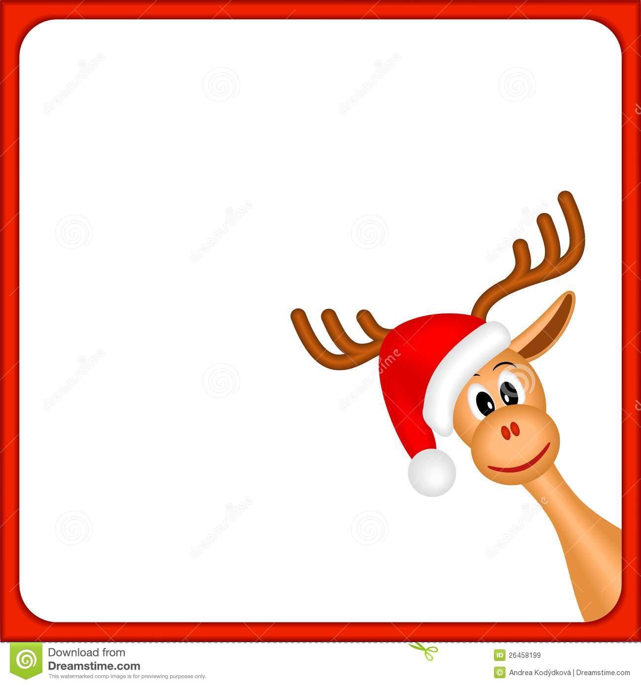 1300x1390 Reindeer Border Clip Art 101 Clip Art