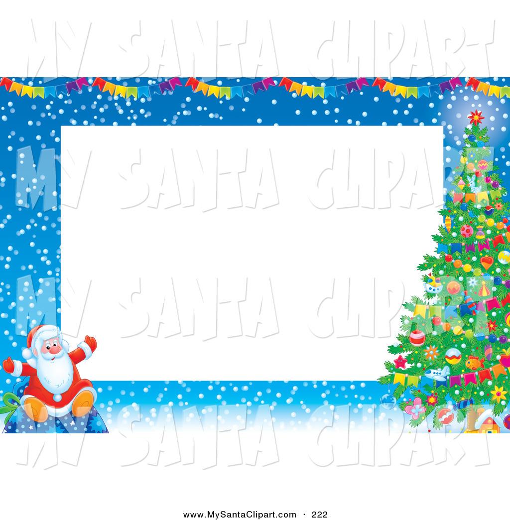 1024x1044 Santa Claus Border Clipart