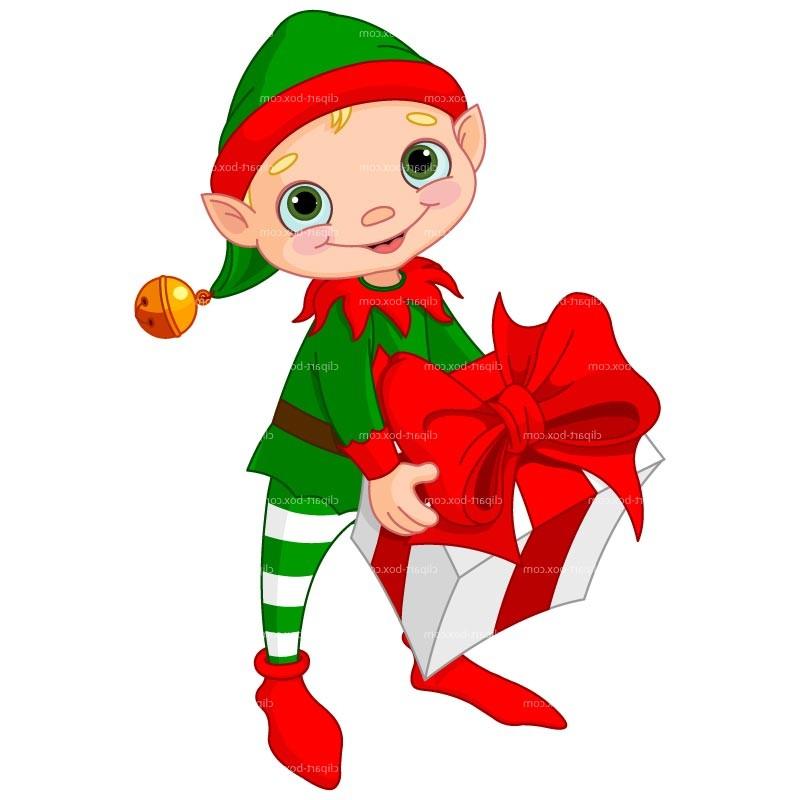 800x800 Christmas Elf Clip Art Clipart