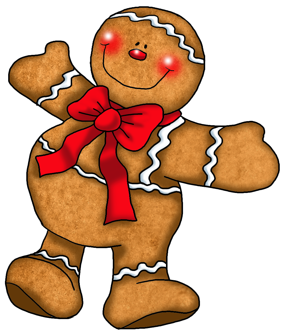 975x1151 Free Gingerbread Man Clipart Pictures